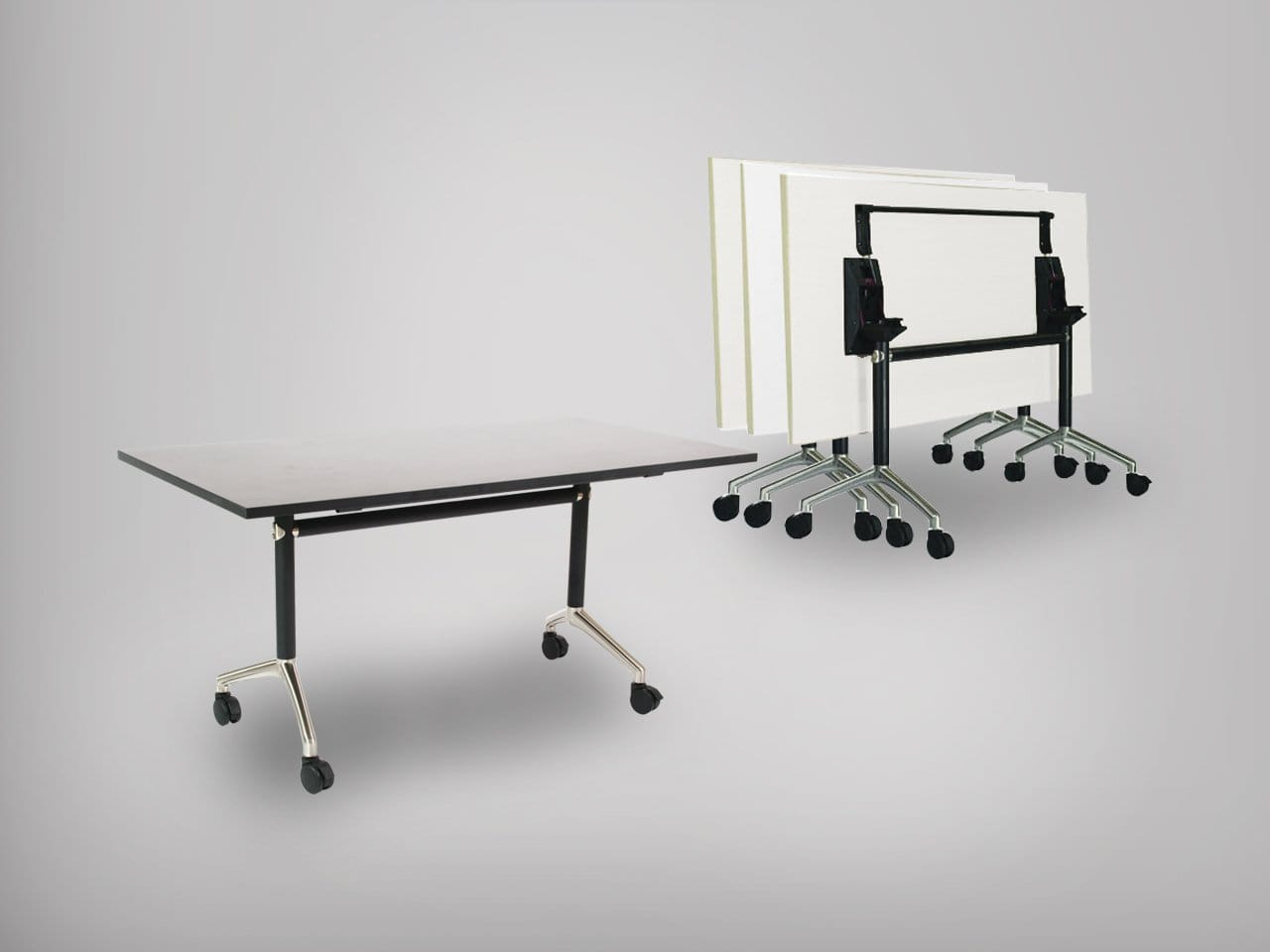 Clinton Folding Seminar Table Comfort Design The Chair Amp Table People