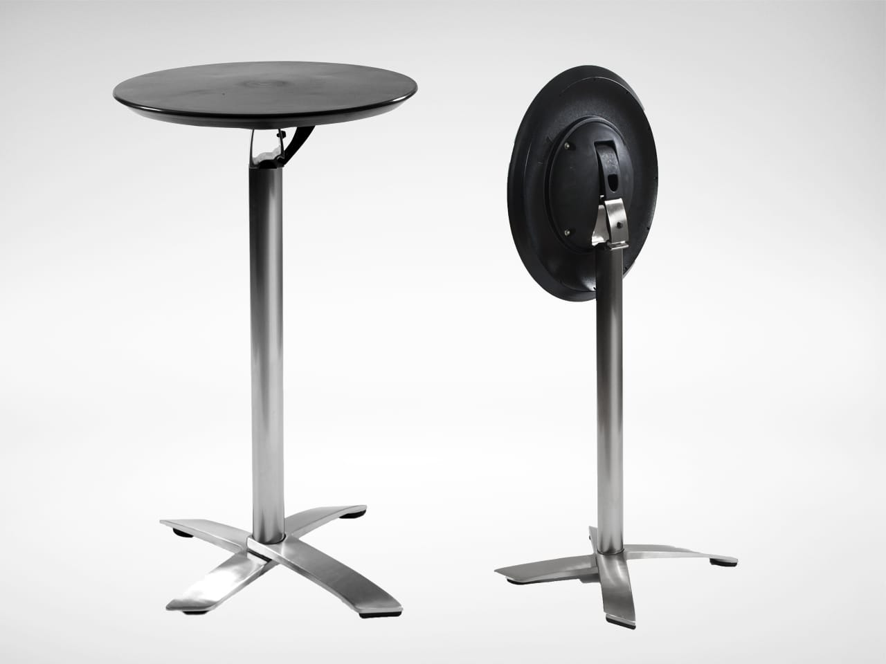 alton folding high table round 600 comfort design the chair table people. Black Bedroom Furniture Sets. Home Design Ideas