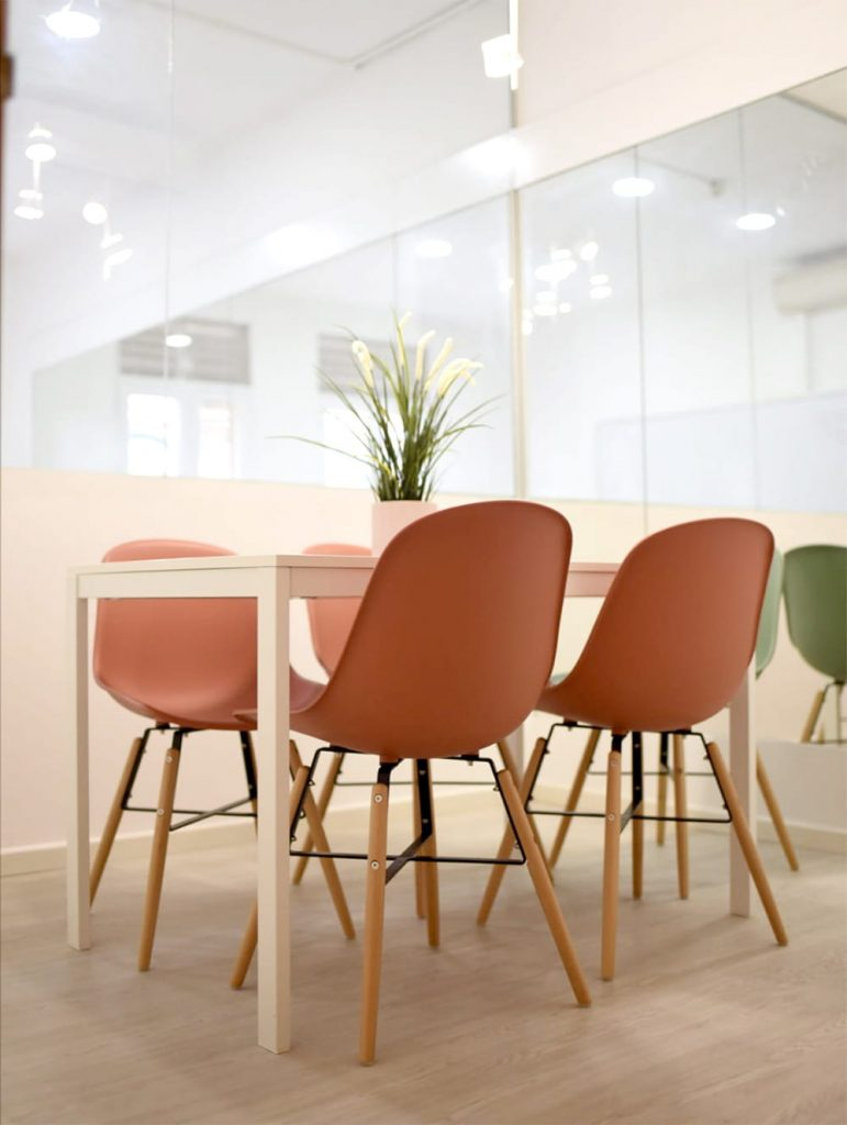 Different Colours of Dining Chairs to Contrast on One Style - Comfort Furniture