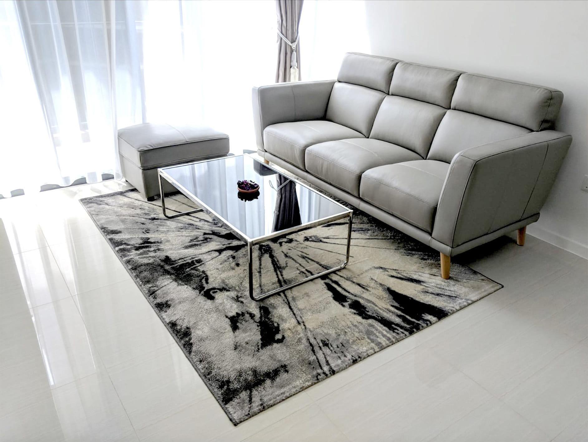 Modest Living Room Design for Minimalist Feel - Comfort Furniture
