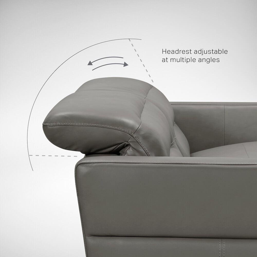 Adjustable Head Rest Sofa for Support - Comfort Furniture