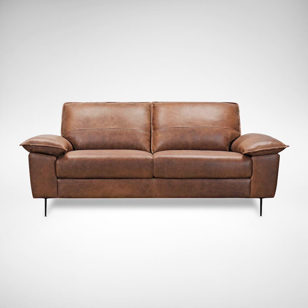 Decorate Living Room with Leather Sofa - Comfort Furniture