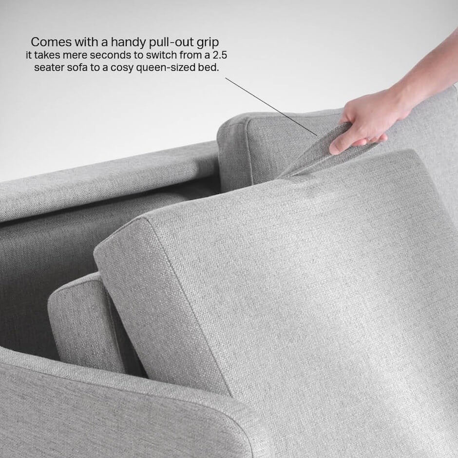 Easy Convertible Pull Out Sofa Bed - Comfort Furniture