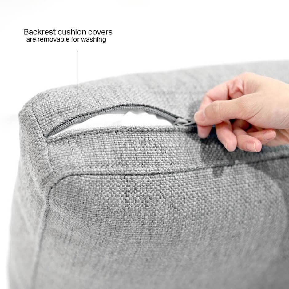Easy to Wash Removable Slipover Sofa - Comfort Furniture