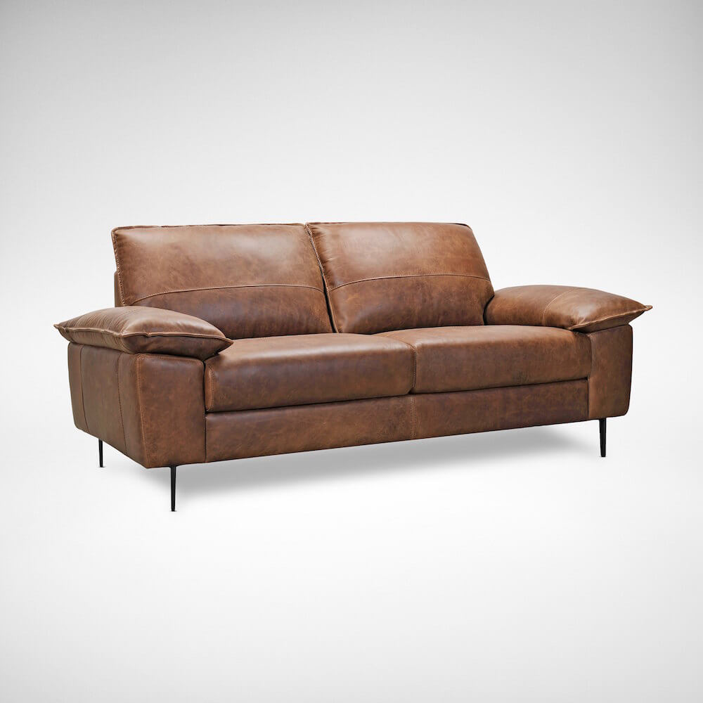 Prado Leather Sofa for Living Room - Comfort Furniture