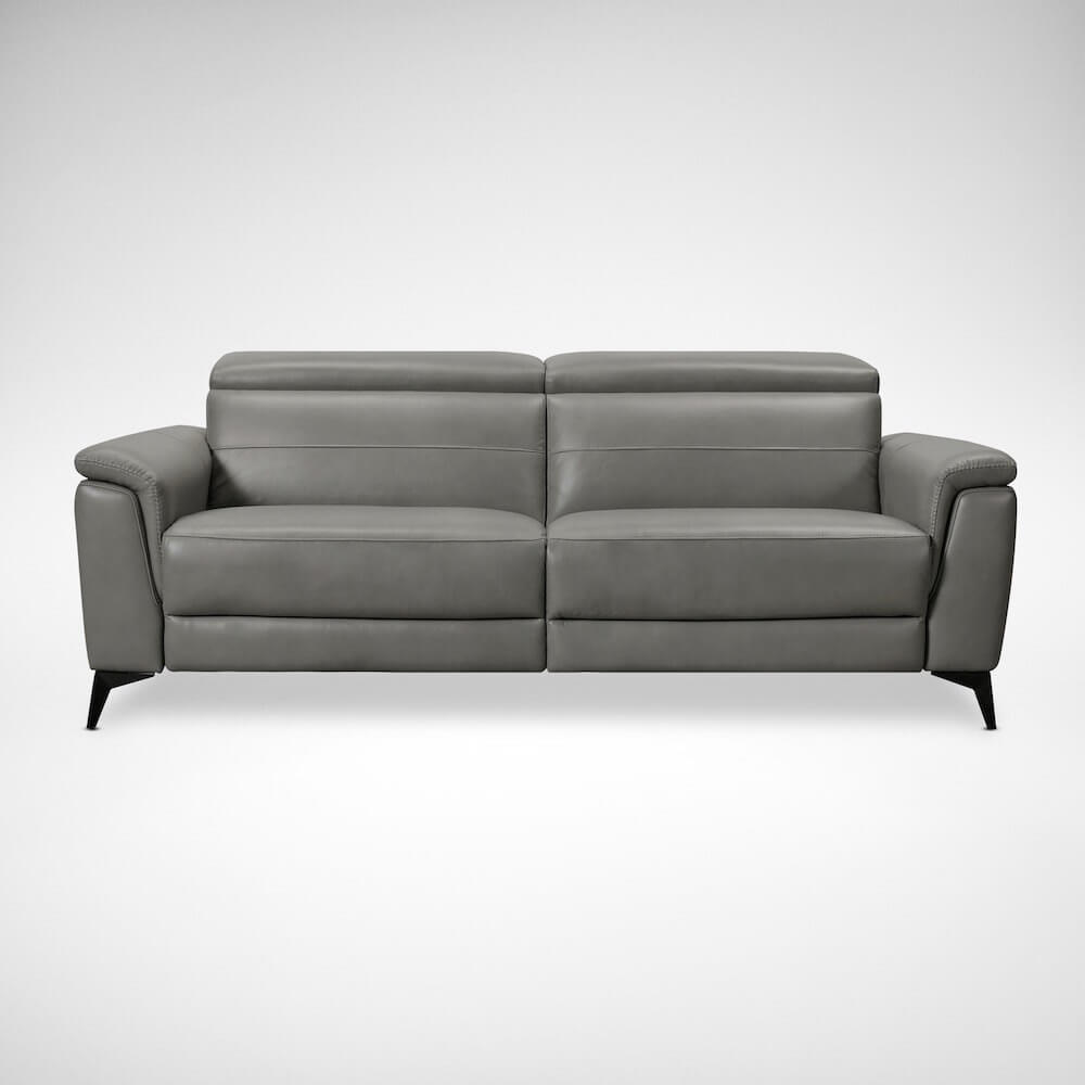 More Seating with Regale Leather Sofa - Comfort Furniture