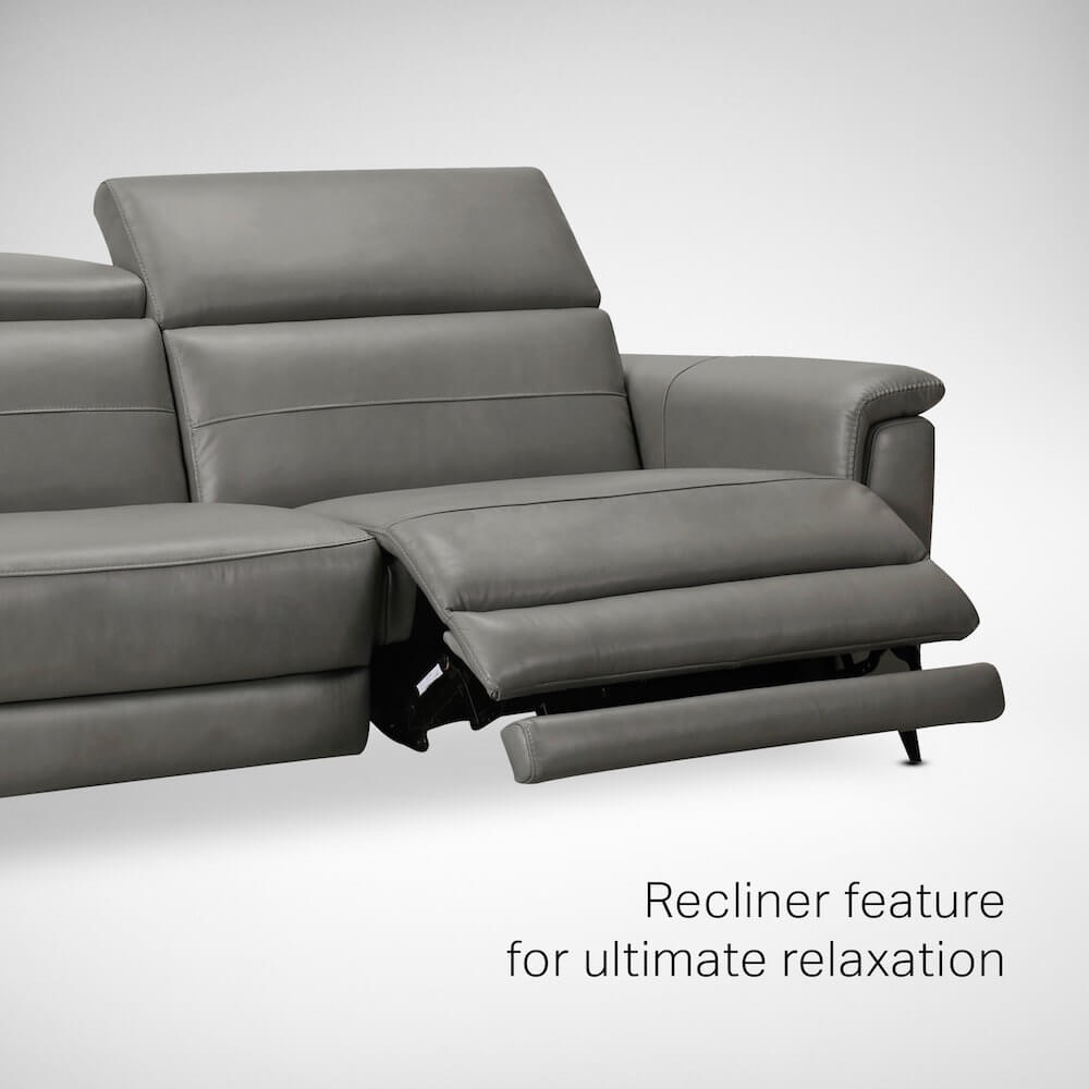 Sofa with Recliner Feature - Comfort Furniture