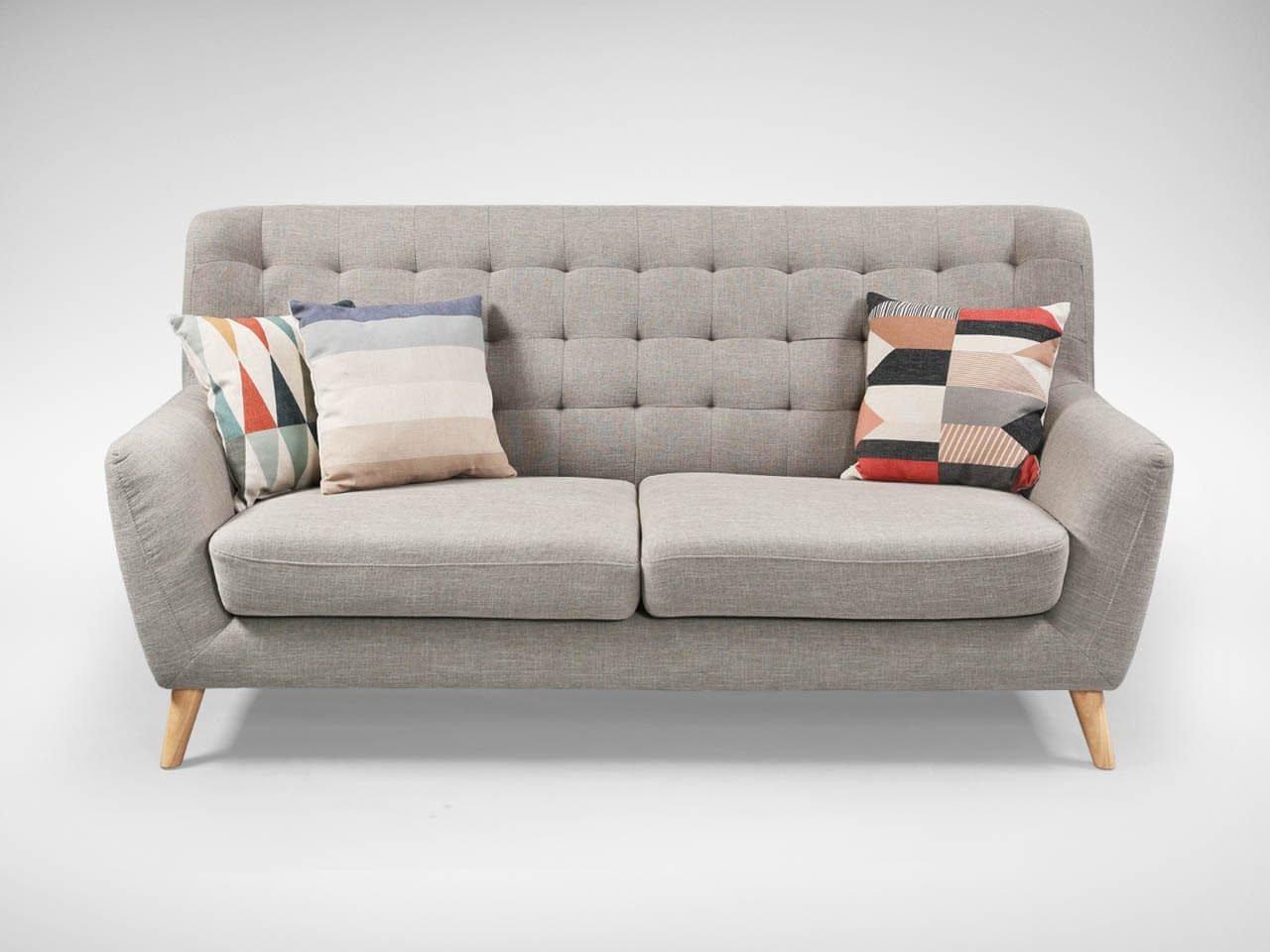 Modern 3-Seater Sofa for Living Room - Comfort Furniture