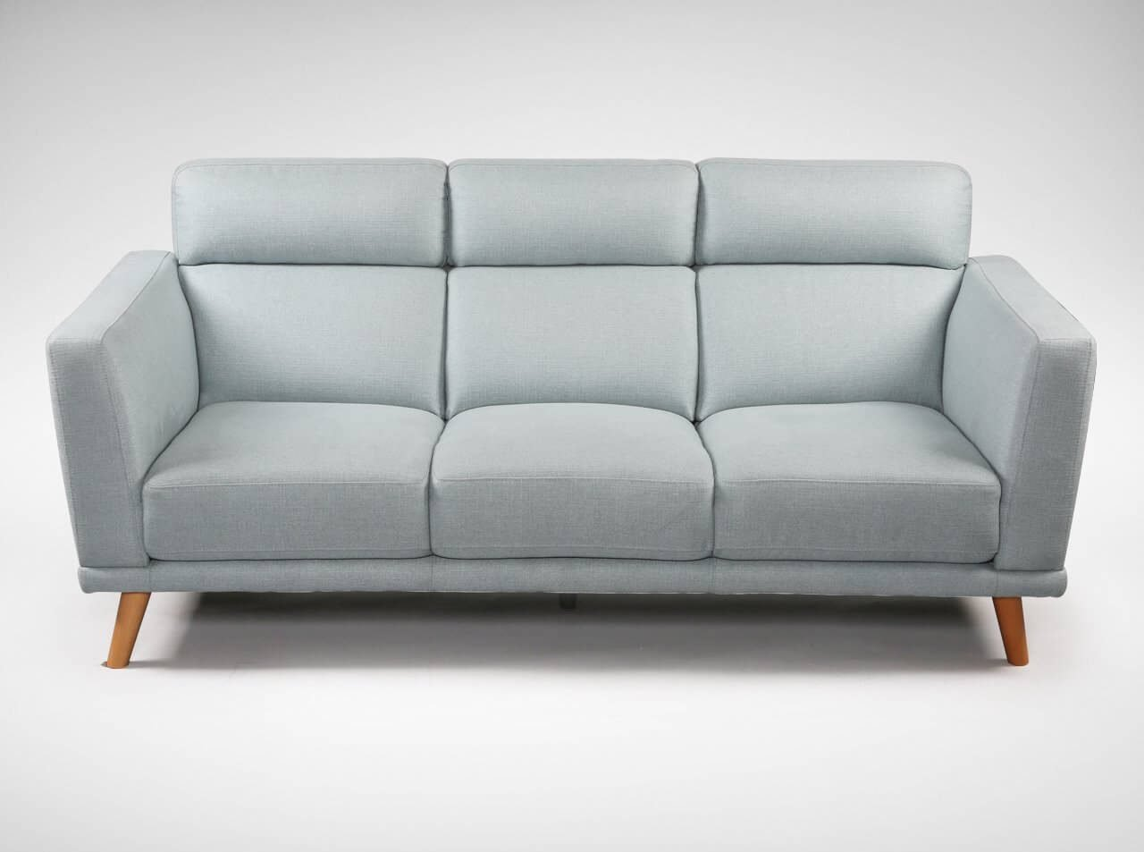 Fabric Sofa That Accommodates 3 Guests - Comfort Furniture