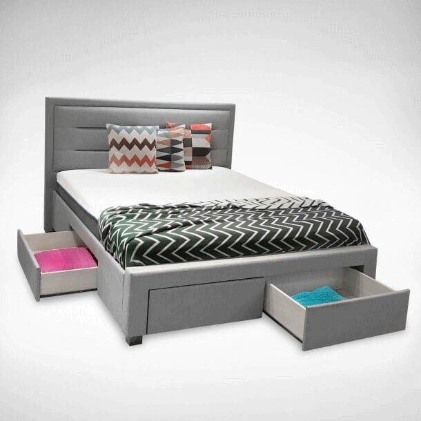 Bed Frames with Extra Storage to Save Space - Comfort Furniture