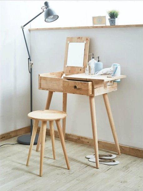 Bedroom Design with Ballet Dresser Table - Comfort Furniture