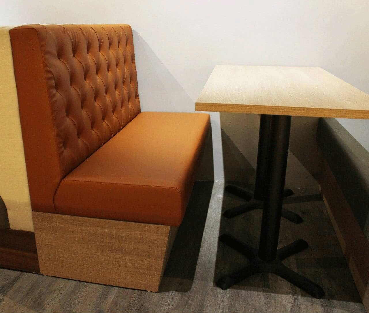 Common Booth Bench Size for Restaurants - Comfort Furniture