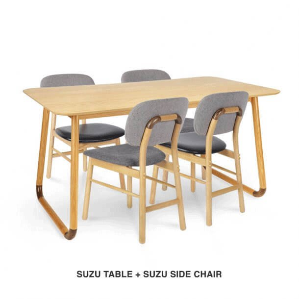 Cushion Seat and Backrest Side Chair - Comfort Furniture