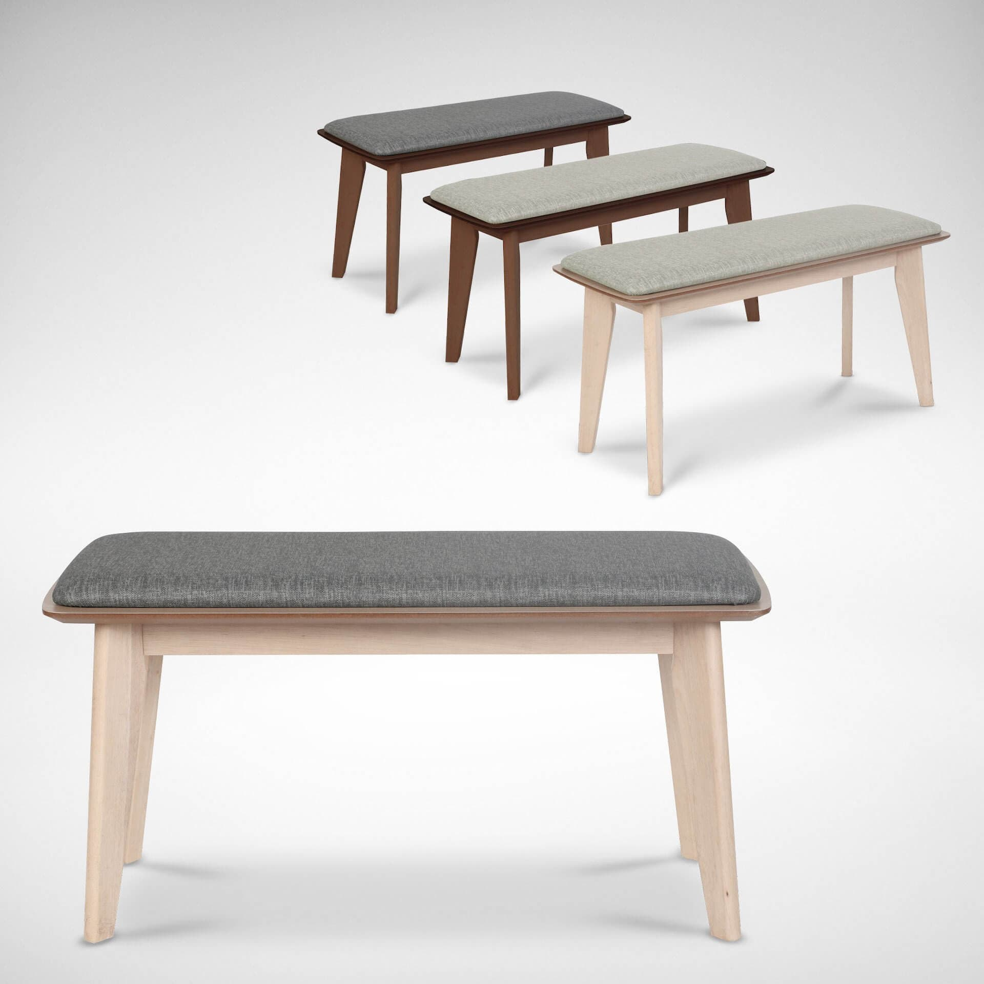 Enhance Comfort with Cushions on Wooden Bench - Comfort Furniture