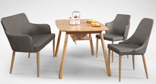 How to Match Debbie Chair and Bench with Wooden Table - Comfort Furniture