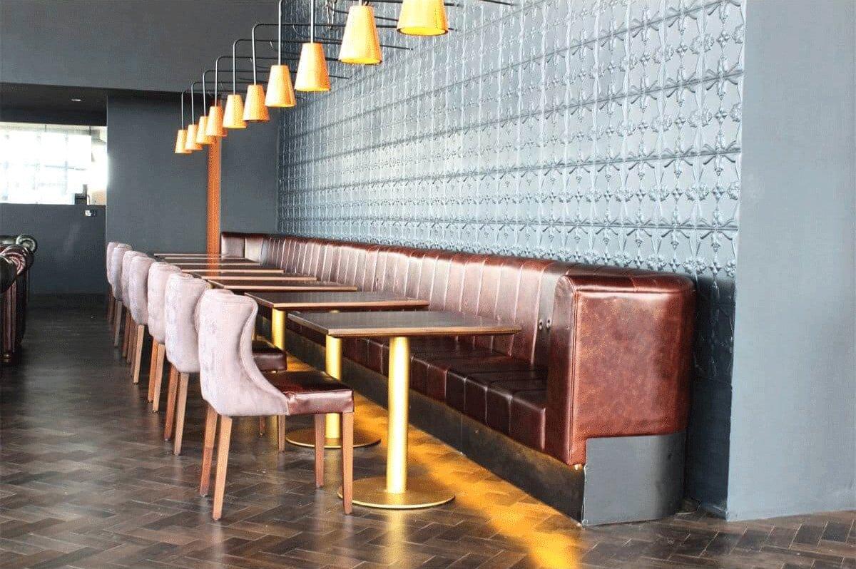 Long Banquette Seating For Restaurants - Comfort Furniture