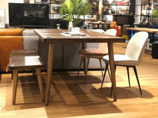 Matching Table with Armless Bench and Chair - Comfort Furniture