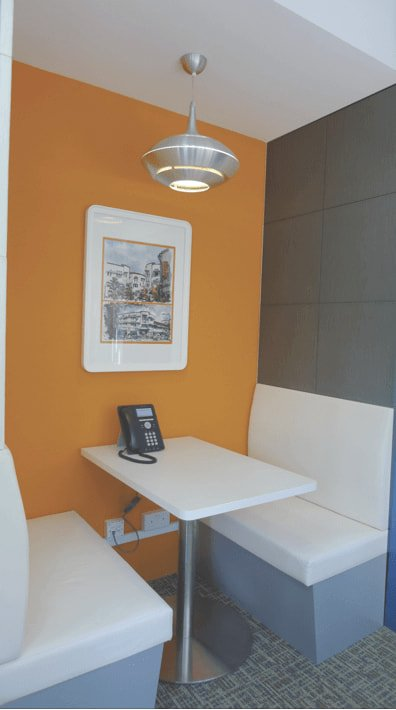 Small Booth Bench For Restaurants - Comfort Furniture