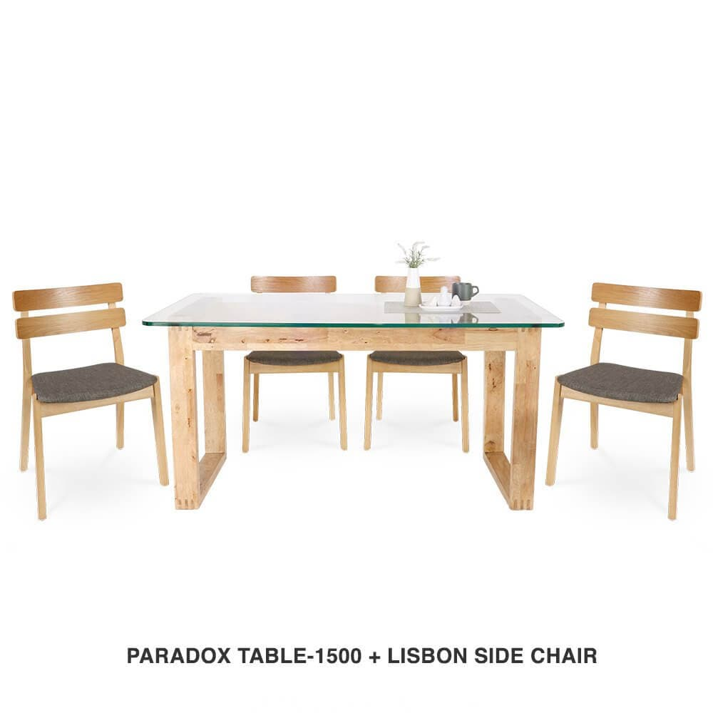 Sophisticated Dining Table and Chair Combination - Comfort Furniture