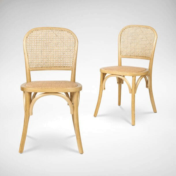 Traditional Rattan Chair - Comfort Furniture