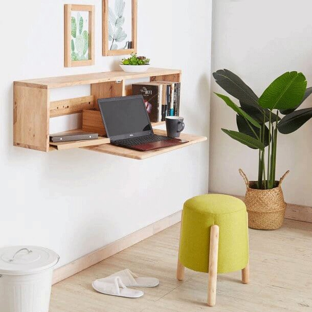 Using Wall-Mounted Shelf to Maximise Bedroom Space - Comfort Furniture