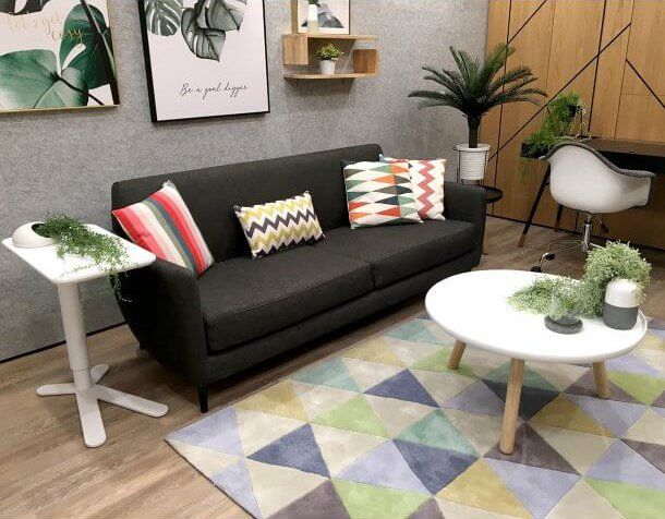 Accessorise Sofa with Cushions in a Small Living Area - Comfort Furniture