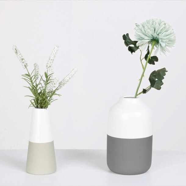 Artificial Plant and Flower in Cylinder Pots - Comfort Furniture