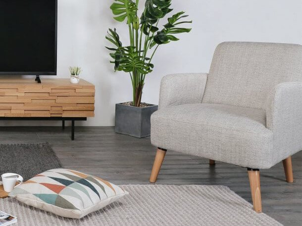 Light-Coloured Sofa for a Scandinavian Inspired Look - Comfort Furniture