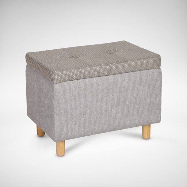 Rectangle Shaped Stool with Storage Feature - Comfort Furniture