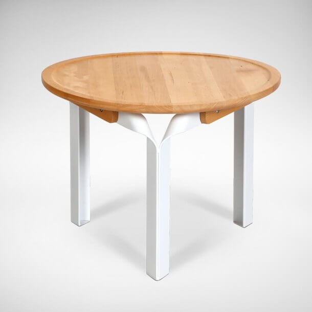 Minimalistic Low Wooden Coffee Table - Comfort Furniture