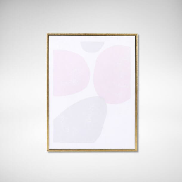 Abstract Painting in Poster Frame - Comfort Furniture