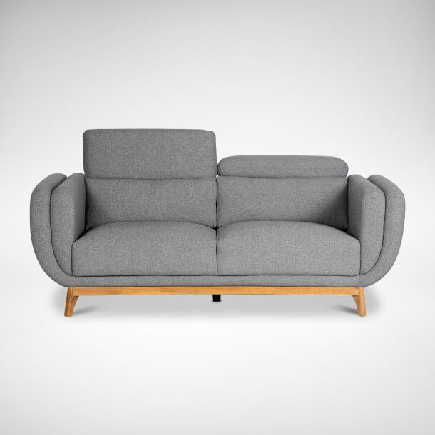 Modern Sofa with Adjustable Headrest Feature - Comfort Furniture