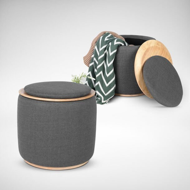 Versatile Stool with Storage - Comfort Furniture