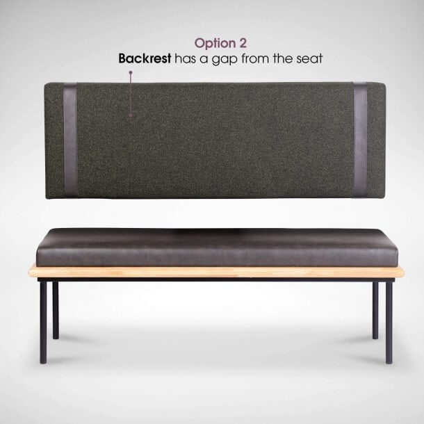 Foldable Booth Seat for Cafe - Comfort Furniture
