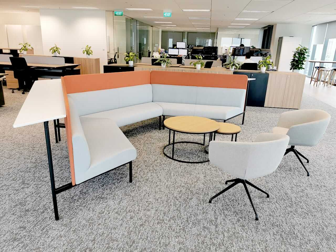 Comfortable Office Area - Comfort Furniture