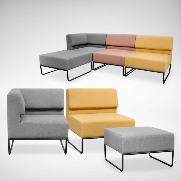 Aesthetically Pleasing & Colourful Owen Modular Sofas - Comfort Furniture