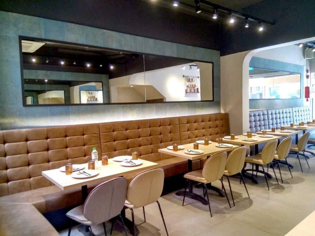 Modern Restaurant Interior Design - Comfort Furniture