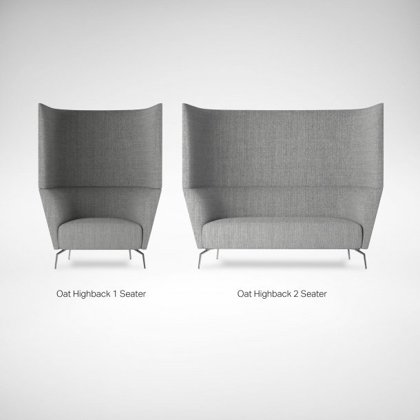 Oat Highback Sofa Seat Comparison - Comfort Furniture