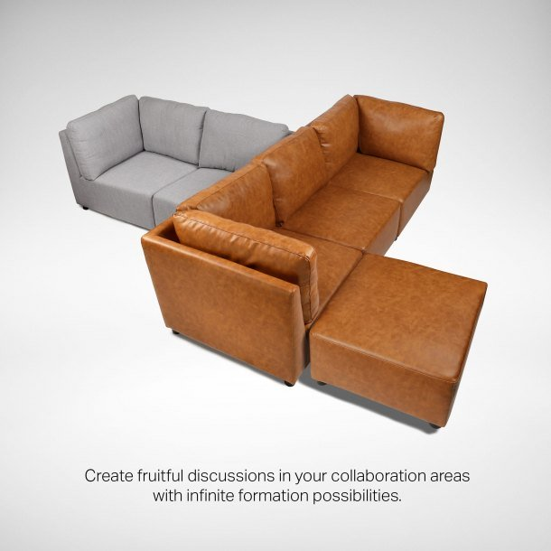 Make Fruitful Discussions with Switch Modular Sofa - Comfort Furniture