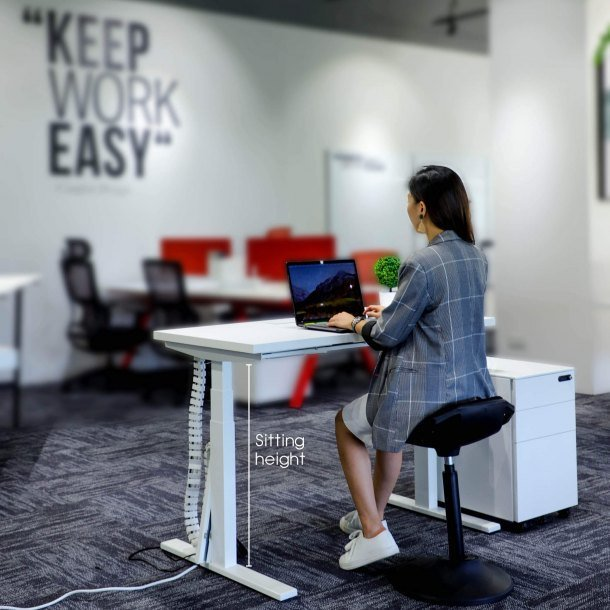Tito Workstation Seating Height - Comfort Furniture