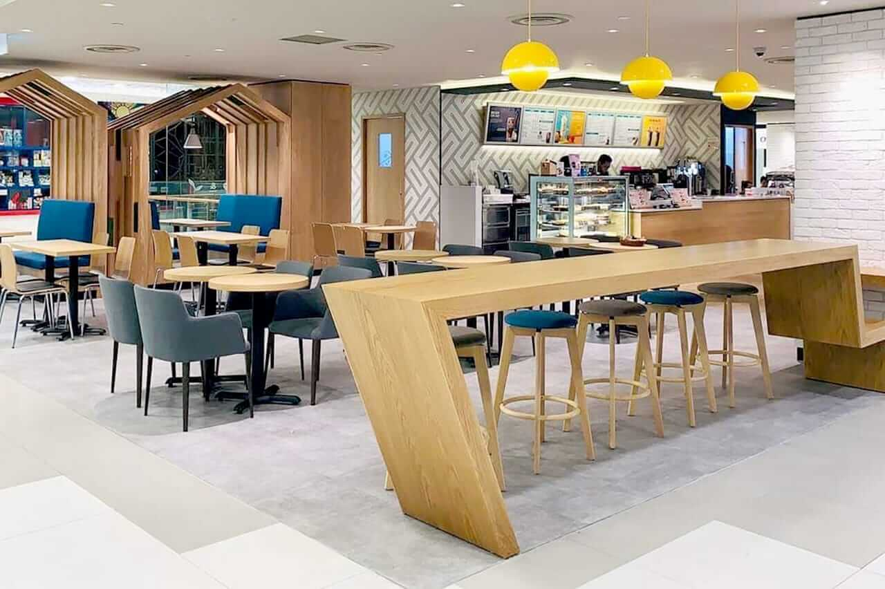 Wooden Furniture Ideas for F&B Setting - Comfort Furniture