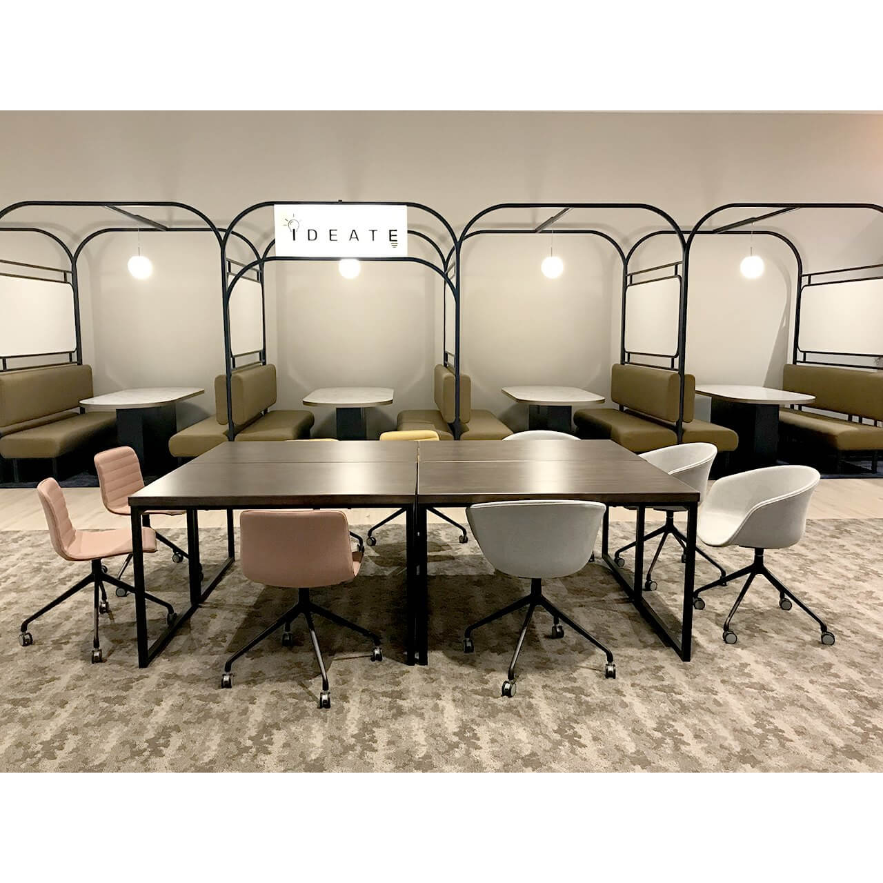 Creative and Comfortable Office Layout - Comfort Furniture
