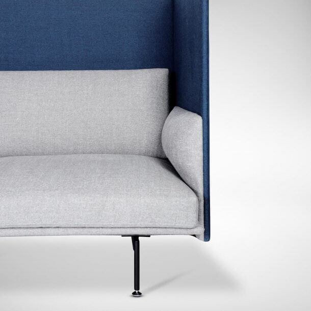 Comfy Sofa with Armrest for Small Spaces - Comfort Furniture