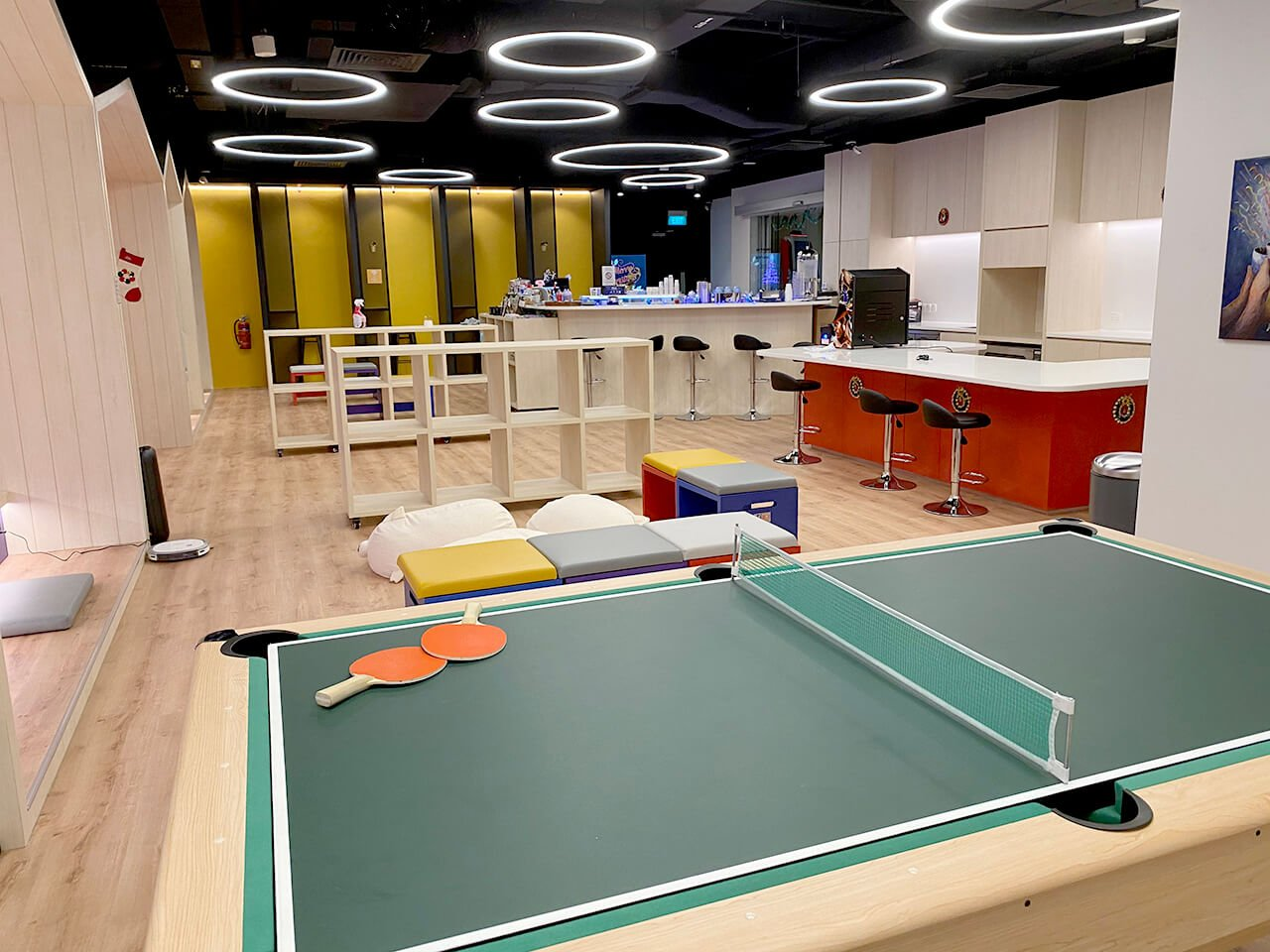 Gaming Area with Relaxing Furniture in the Office - Comfort Furniture