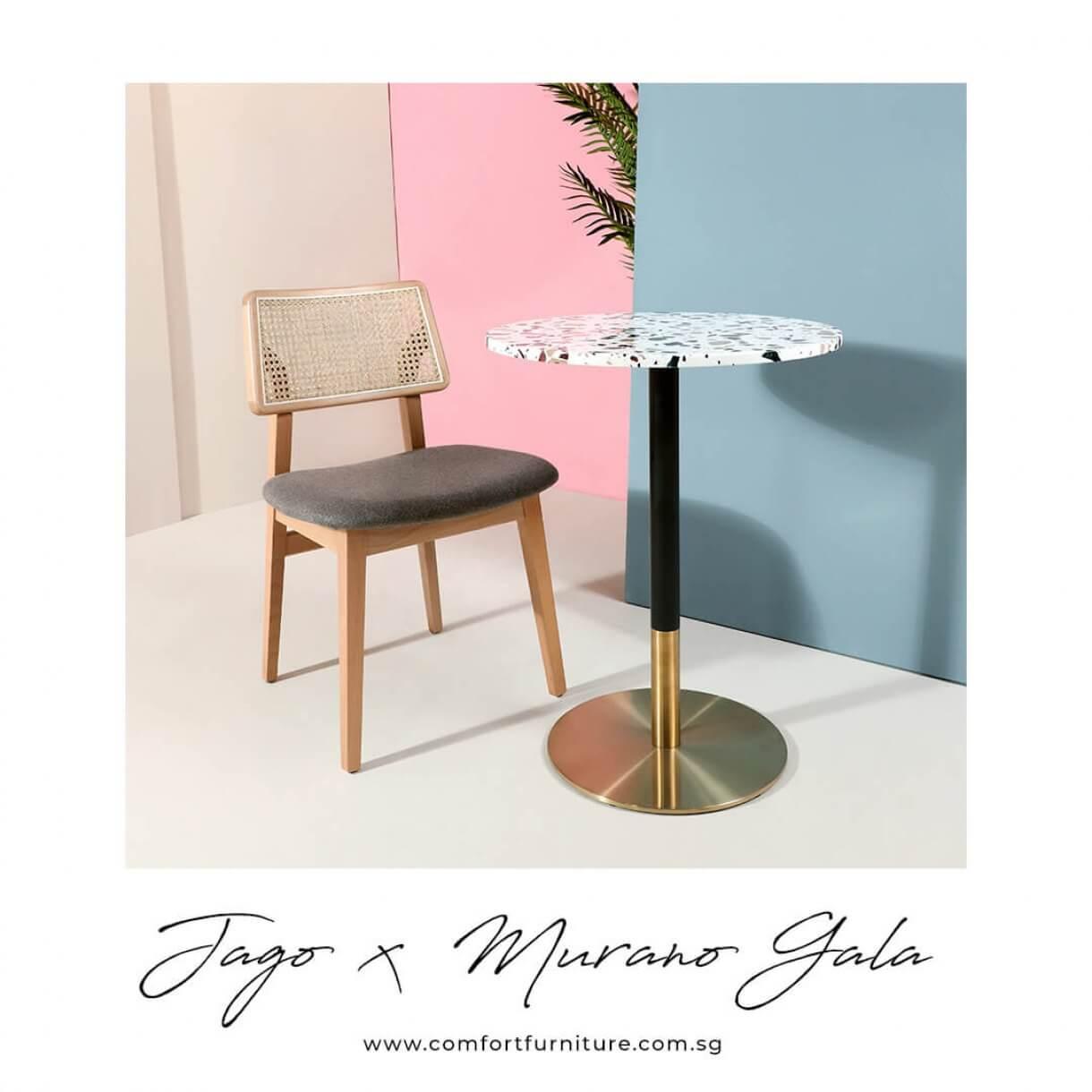 Vintage Interior Design Ideas with Jago Barchair - Comfort Furniture