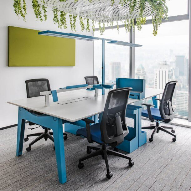Contemporary and Modern Styled Office Look - Comfort Furniture