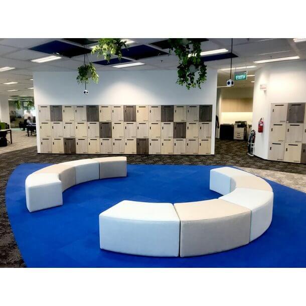 Modular Semi Circular Modern Sofa for Leisure Space - Comfort Furniture