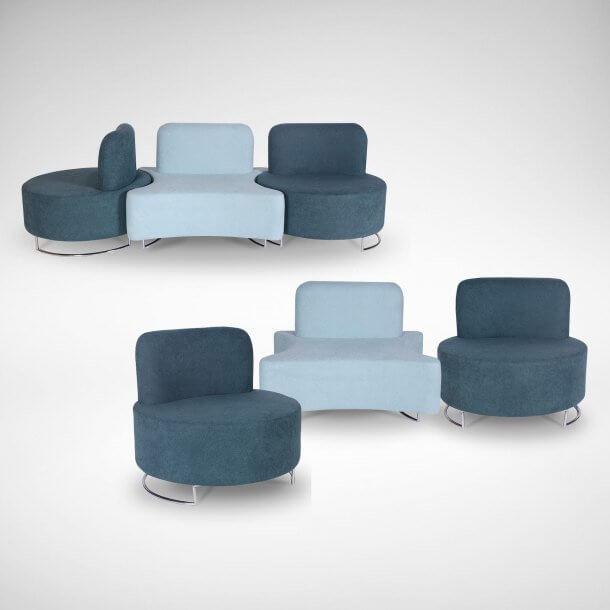 Comfy Sofa for Modern Office Interior - Comfort Furniture