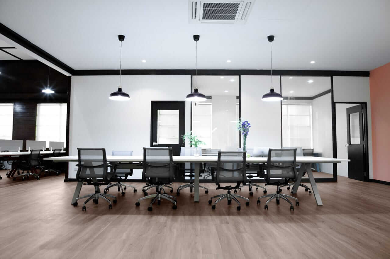 Office Conference Area Table and Chair Set - Comfort Furniture