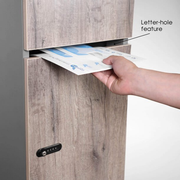 Locker with Letter Hole Feature - Comfort Furniture
